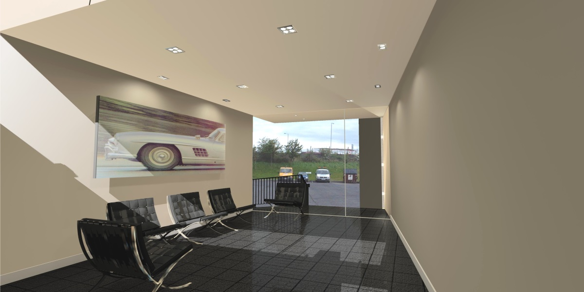 VIP car showroom