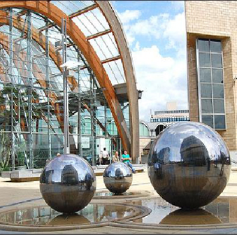Sheffield Winter Garden Glazing